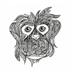 Monkey anti stress vector