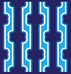 seamless abstract dark blue vertical lines art vector image