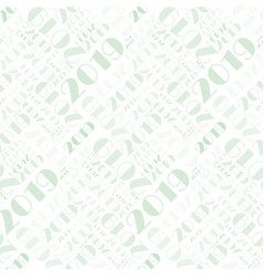 Seamless pattern with number two thousand and vector