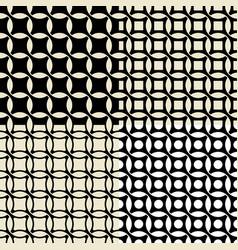 set of vintage wallpaper pattern seamless vector image