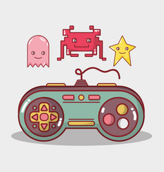 simulator videogame electronic game recreation vector image