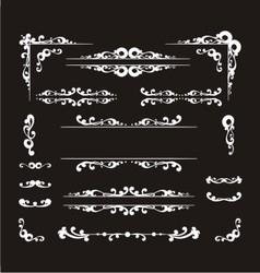 vintage decorative vector image