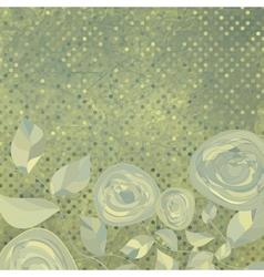Vintage Floral backgrounds vector image