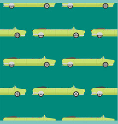 seamless pattern luxury limousine long car vector image vector image