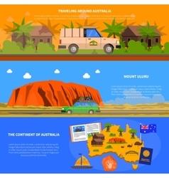 Australia Banners Set vector