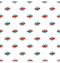 comic boom splash pattern seamless vector image