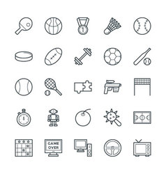 Gaming cool icons 4 vector