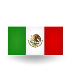 Mexican Flag vector image