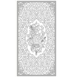 Ottoman art of illumination vector