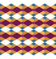 Seamless geometric pattern geometric designed vector image