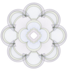 Watermark guilloche pattern vector