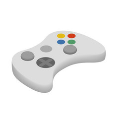 Gamepad icon cartoon style vector image
