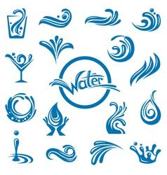 waters design vector image vector image