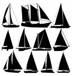 sea transportation vector image vector image