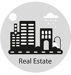 RealEstateSign vector image vector image
