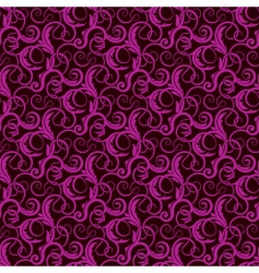 violet seamless wallpaper pattern vector image vector image