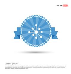 Atom physics symbol vector