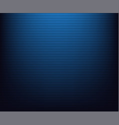 blue radial gradient to black with lines vector image