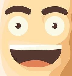 Cartoon Character Funny Avatar vector image