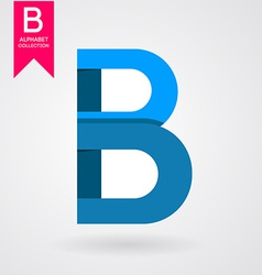 Creative letter vector image
