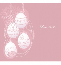 eggs back vector image