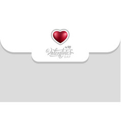 envelope happy valentines day vector image