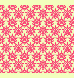 floral seamless pattern repeating texture vector image