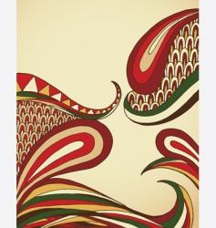 Organic swirls vector