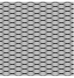 seamless pattern fabric knitted from yarns vector image
