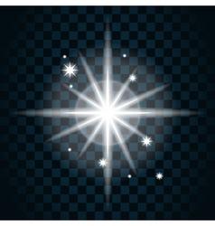 Shine star sparkle icon 14 vector