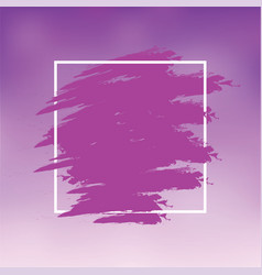 purple abstract background brush paint texture vector image