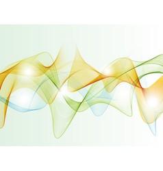 Color smoke vector image vector image