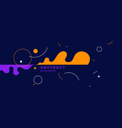 abstract background with straight lines splashes vector image