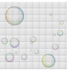 Ceramic tile background vector