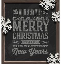 Christmas holidays greetings vector