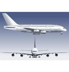Jetliner vector