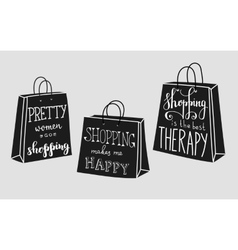 Quotes about shopping vector