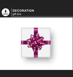 realistic gifts box vector image