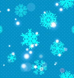 Snowflake Pattern Snowflake texture Christmas and vector image