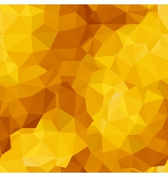 Triangle sunny seamless pattern vector image