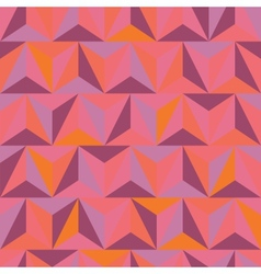 3d abstract pyramidal pattern vector image vector image