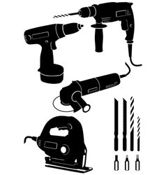 power tools vector image