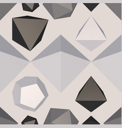 Difficult structure seamless pattern vector
