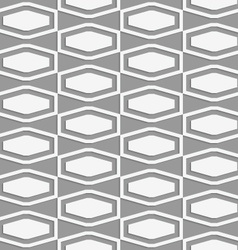 Perforated squashed hexagons in grid vector