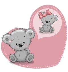 Dreaming Bear vector image vector image