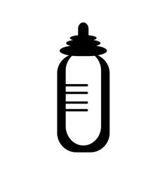 baby pacifier bottle vector image