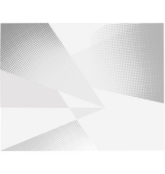 artistic abstract triangular geometric pattern vector image