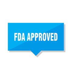 Fda approved price tag vector