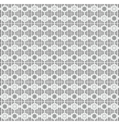 Seamless textile quilt pattern vector