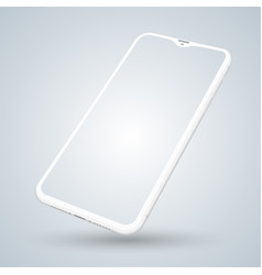 smartphone mockup for technology vector image